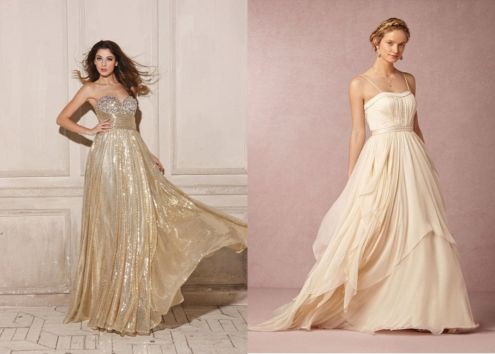 Exquisite Fashionable Dress Color Champagne Wedding Of A Modern Bride Types Styles And Variety Finishes Difference Ayvory