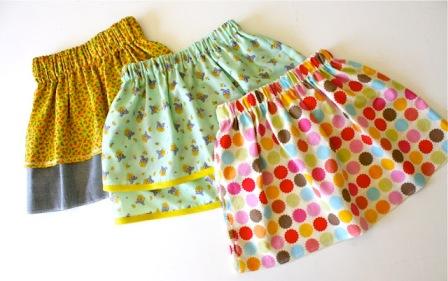 Выкройка юбок для девочек, пошаговые инструкции 88