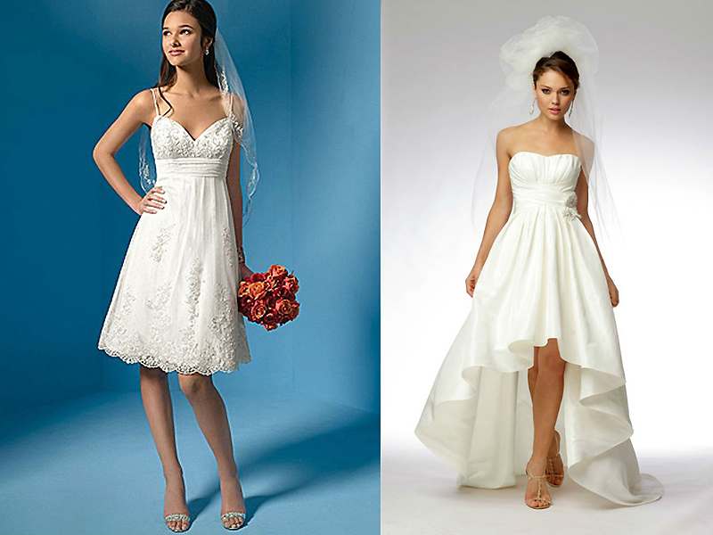 How long is the dress suitable for full low women. What should be ...