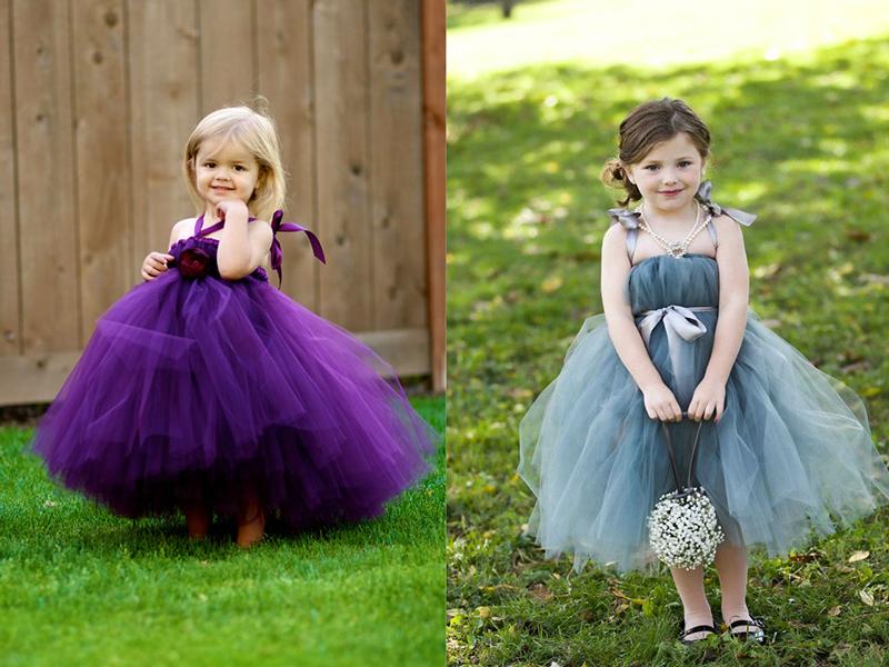 Сшить пышное платье из фатина для девочки своими руками
